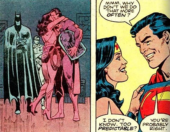 superman and wonder woman relationship will end badly bruised