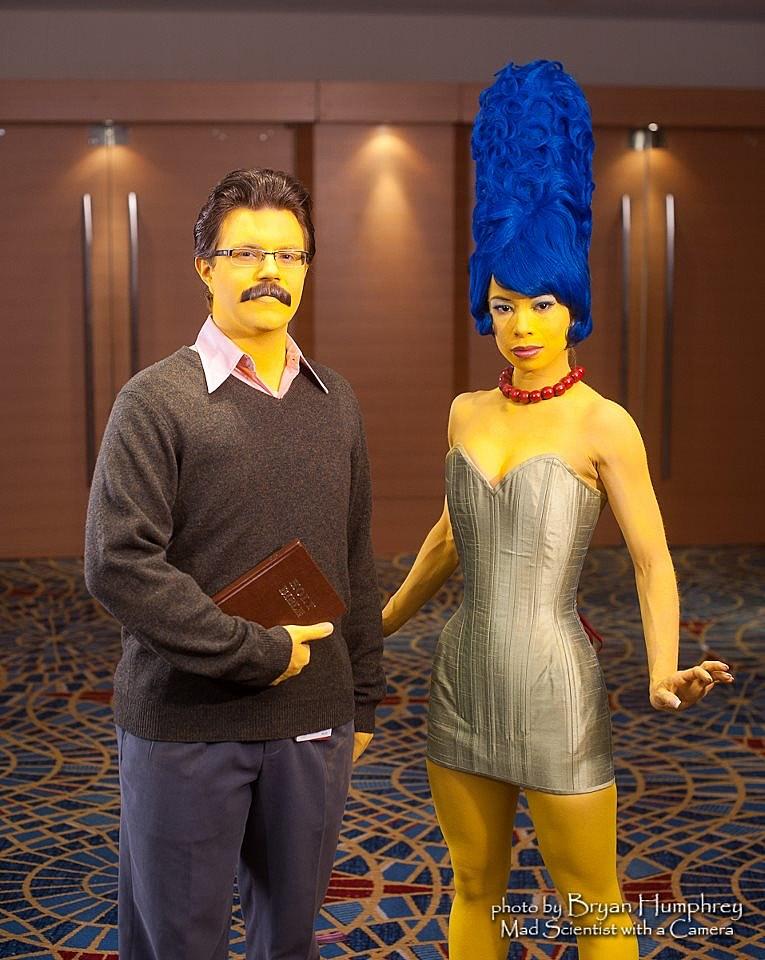 Marge Halloween Costume
