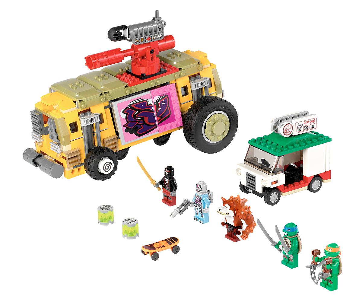 Teenage Mutant Ninja Turtles' Lego Sets On The Way In 2013 NYCC 2012