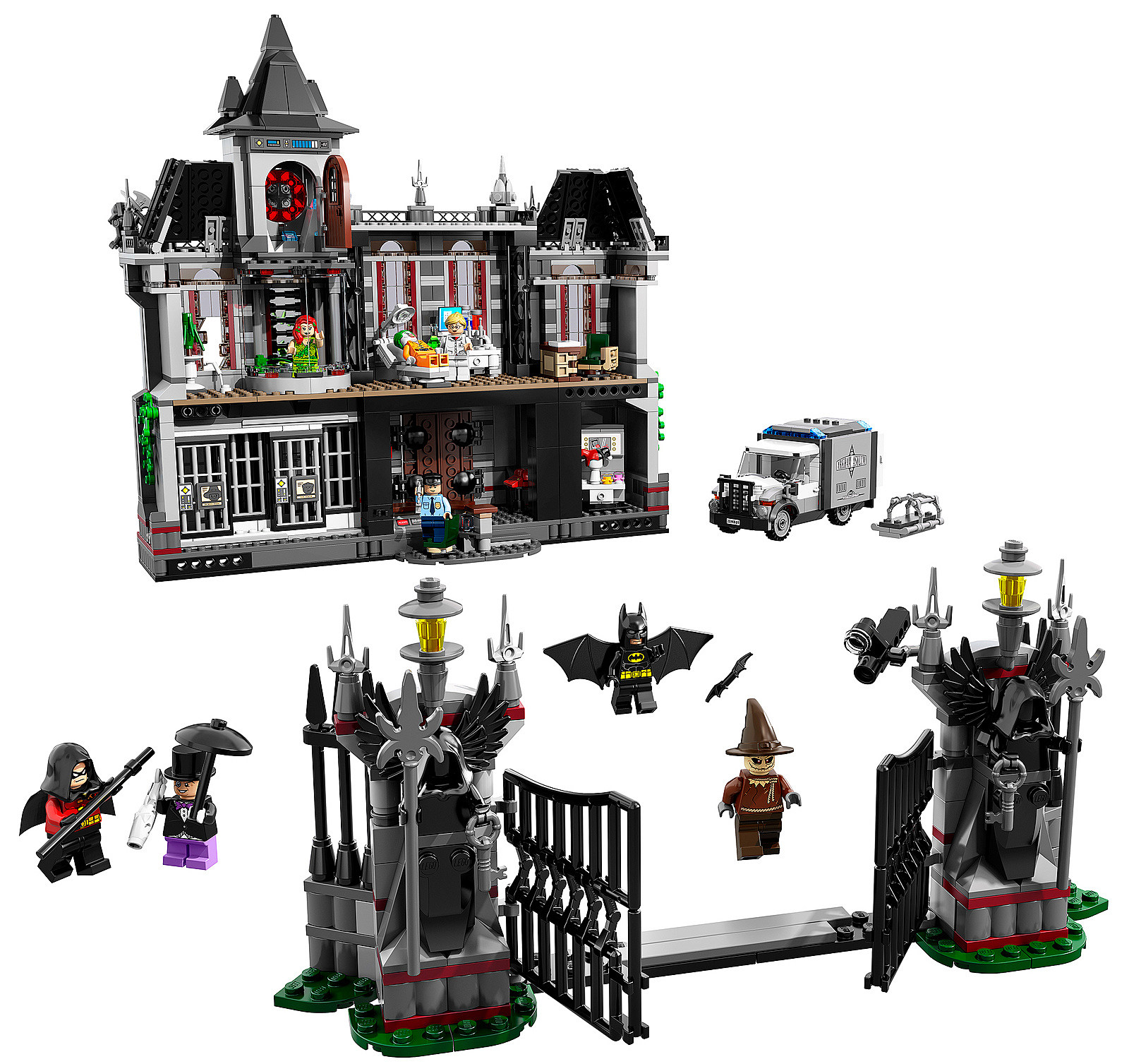 Lego Batman Arkham Knight: Massive New Lego Arkham Asylum Set Announced