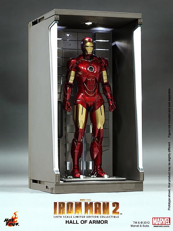 Hot Toys To Outfit Iron Man Figure Collectors With A 1/6 ...
