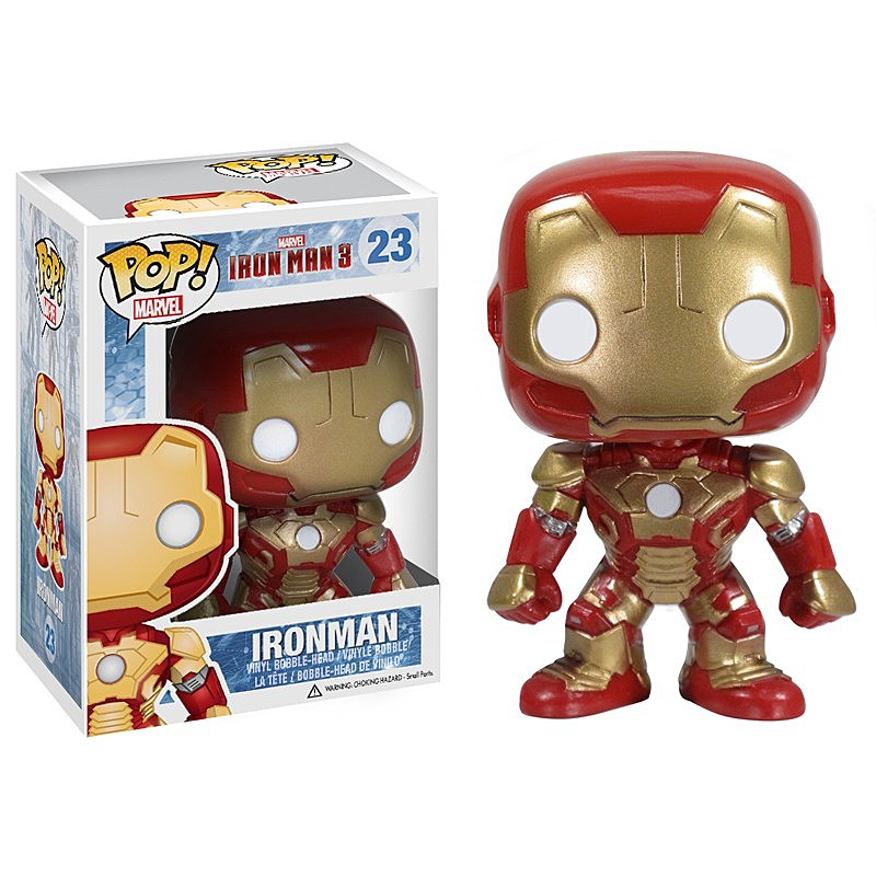 Funko Reveals Its Iron Man 3 Vinyl Papercraft Plushies