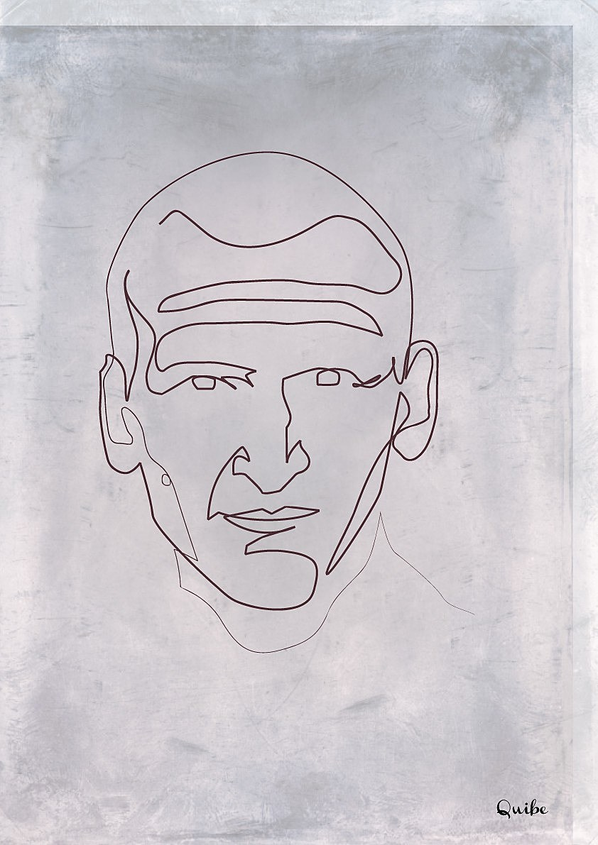 Line Drawing Of A Doctor : Parting shot these single line character portraits will
