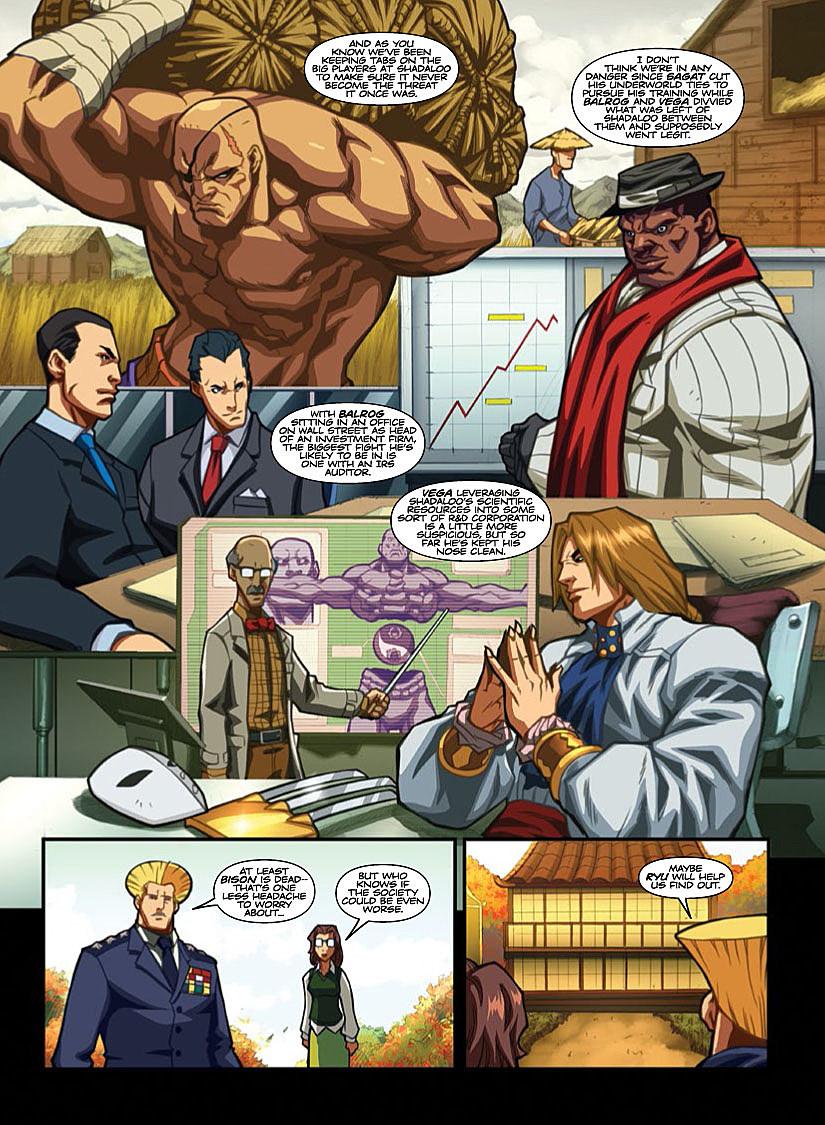 Read online Street Fighter (2014) comic - Issue # Full