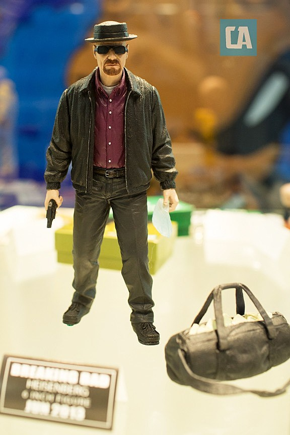 Toys For Poor : Toy fair mezco s 'breaking bad toys