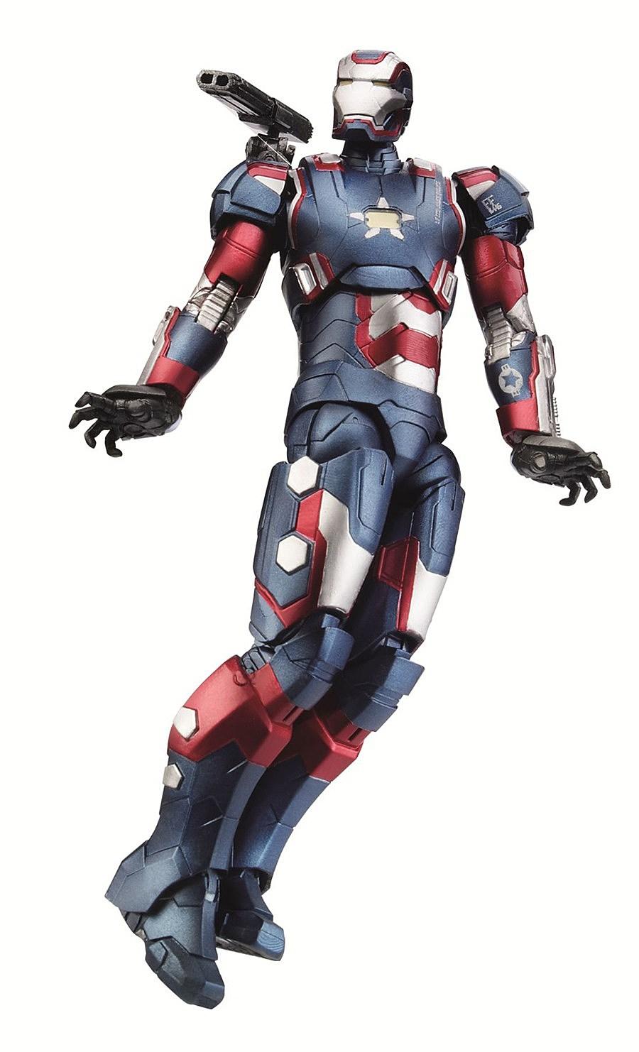 Iron Man 3 Suit Patriot Toy Fair 2013: Hasbro�...