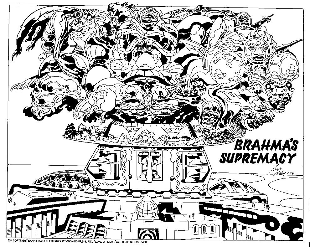 Jack Kirby's 'Lord Of Light' Designs For The Project That ...