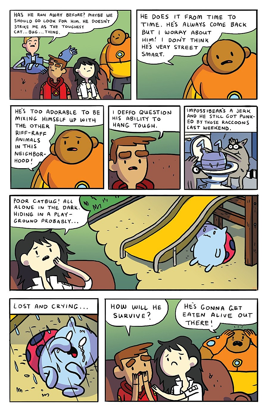 Catbug Goes Missing In Bravest Warriors 6 Backup Preview