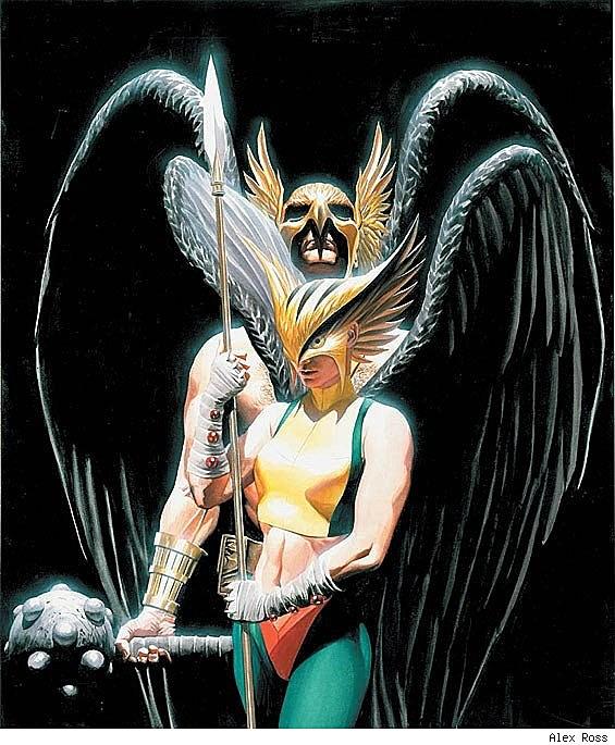 Alex Ross Hawkman Best Art Ever (...