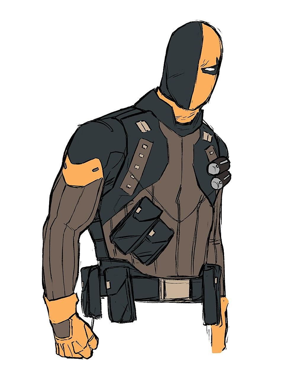 Deadshot Redesign Kris Anka & Zac Ro...