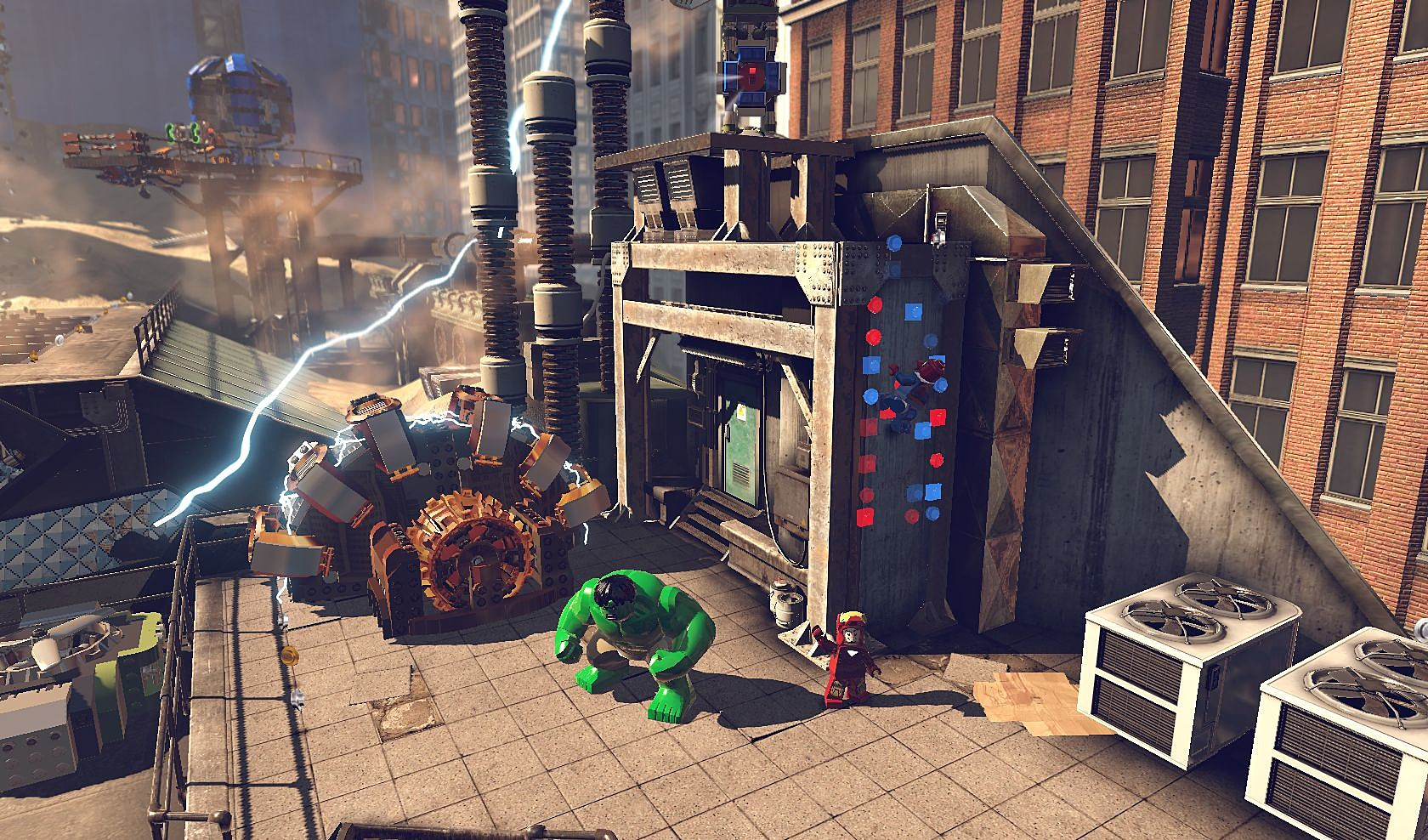 New 'lego marvel super heroes' images and gameplay footage arrive