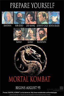 Torrent Filme Mortal Kombat 1995 Dublado 720p Bluray completo