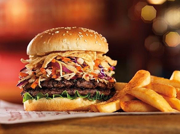 Red Robin Double Burger