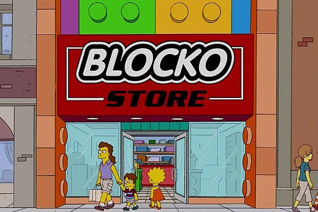 The Simpsons Blocko Store