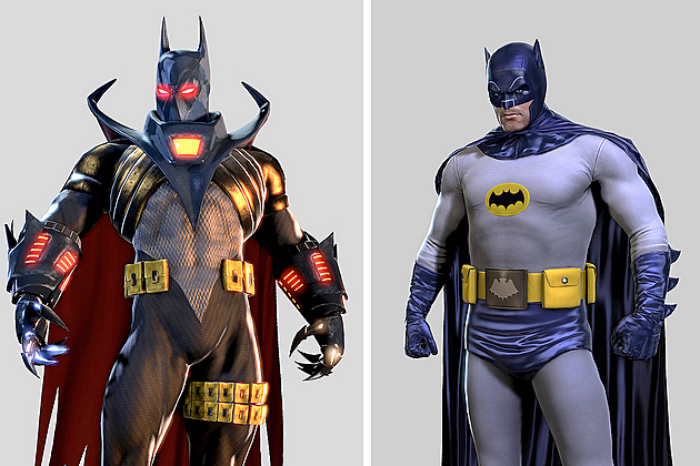 Batman Arkham Origins PlayStation 3 DLC Knightfall Batman '66 skins