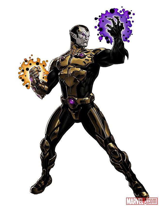 Marvel Avengers Alliance Thane son of Thanos Infinity