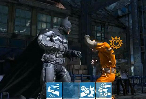 Screenshot From the Arkham Origins Mobile Game trailer