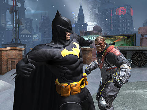 Batman Arkham Origins iOS 2
