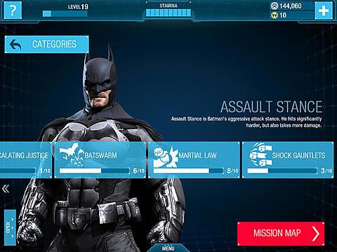 Batman Arkham Origins iOS 3