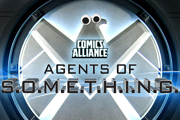 ComicsAlliance Agents of Shield Agents of Something logo