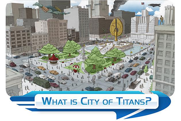 City Of Titans Kickstarter
