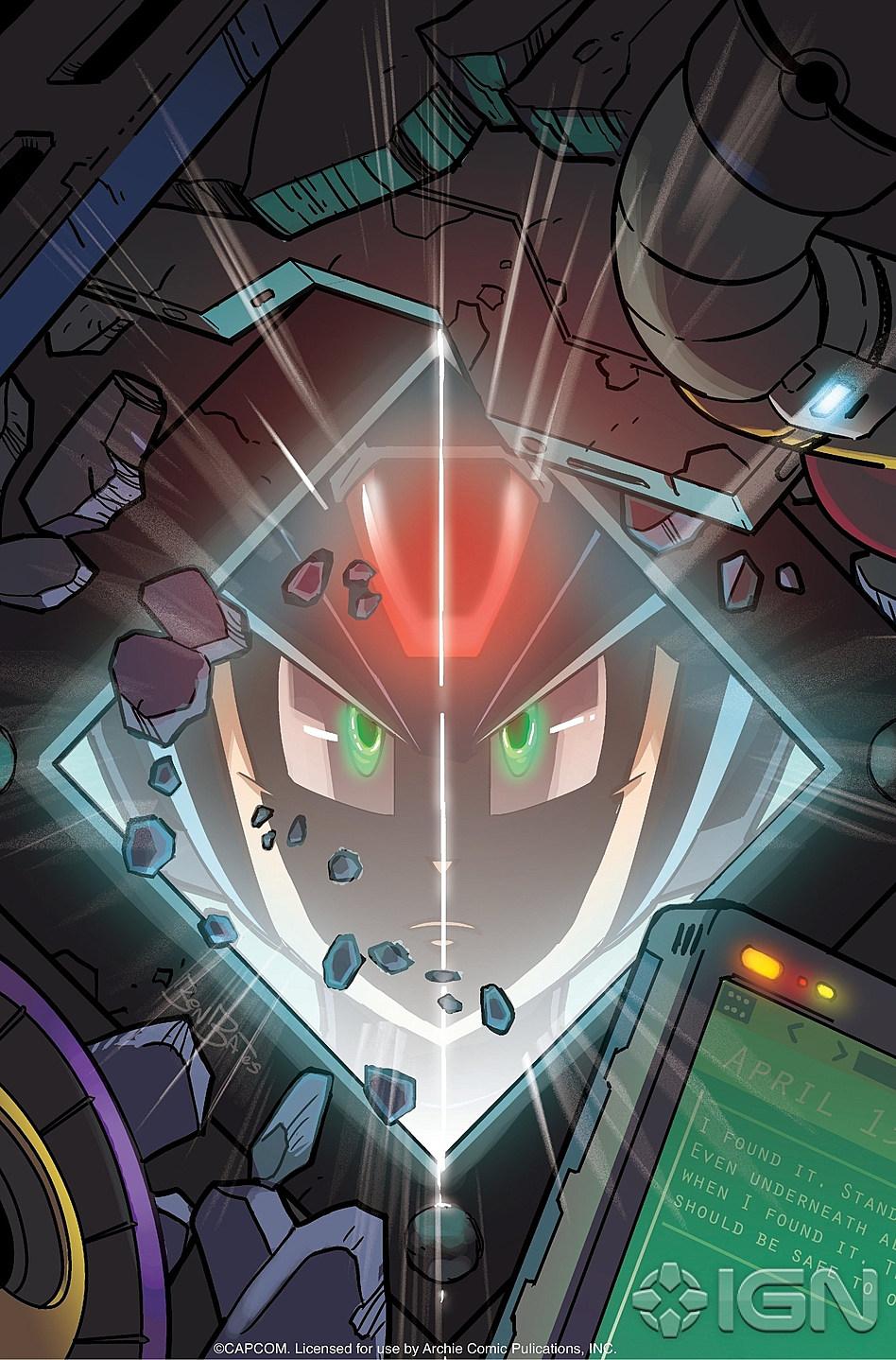[Ficha Completa] Mega Man X - X Mega-Man-X-Archie-Comics