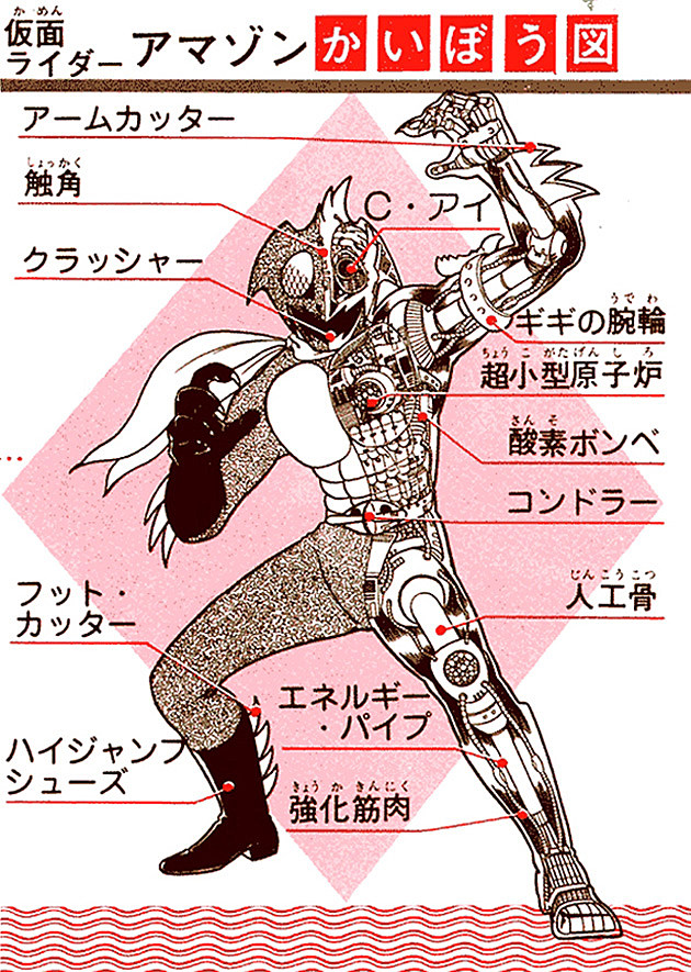 Kamen Rider Amazon by Shotaro Ishinomori