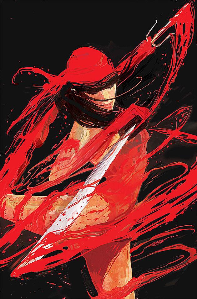 Elektra by Mike Del Mundo