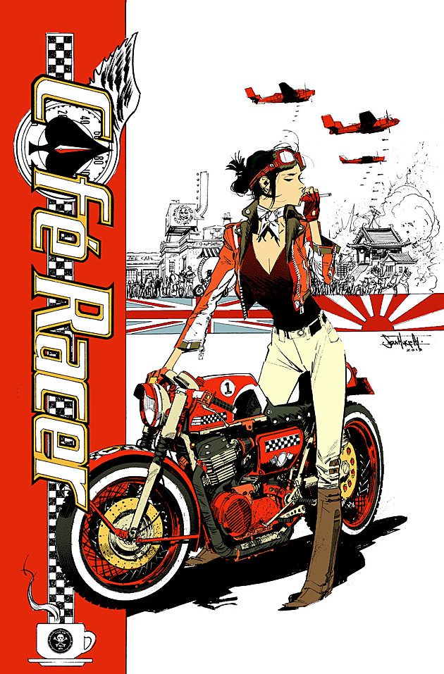 Cafe Racer Sean Murphy