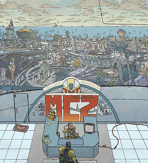 Judge Dredd: Mega City Two, IDW