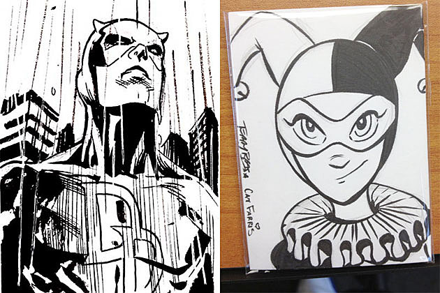 Persicope Studio Sketch Cards on Etsy
