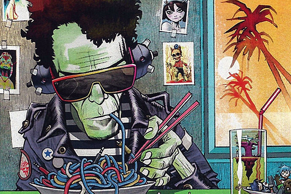 Best Art Ever (This Week): Lou Reed, Ramna 1/2, Daft Punk, Scott Pilgrim