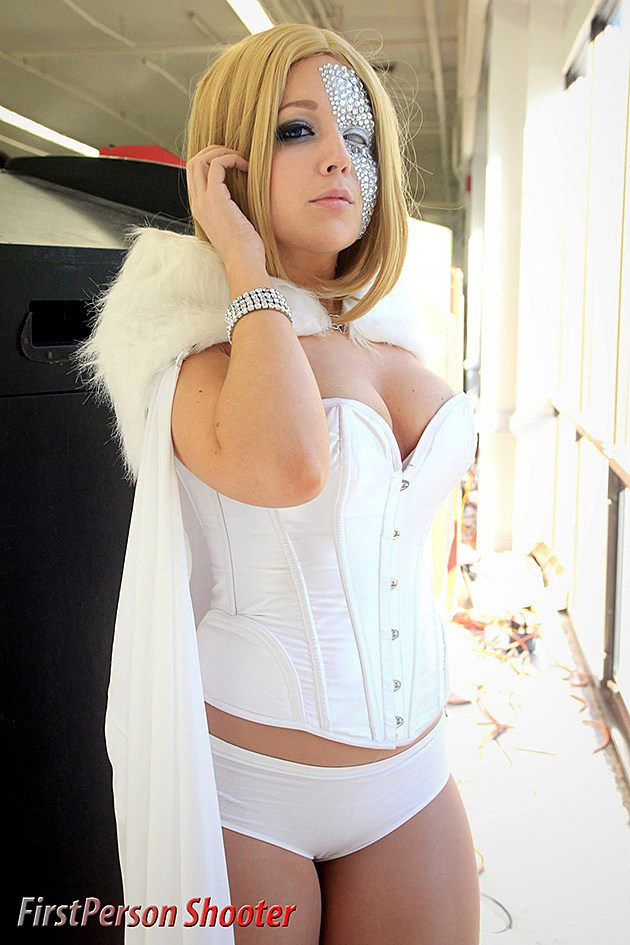 Best Cosplay Ever ComicsAlliance Emma Frost Diamond