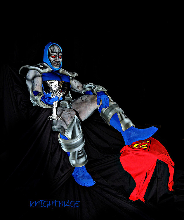 Darkseid, cosplayed by knightmage, photographed by Gwen Graham