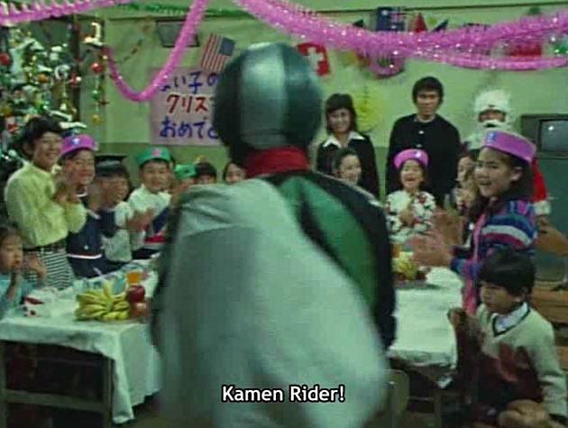Kamen Rider Avengers Kamen Rider 1971 Screenshot