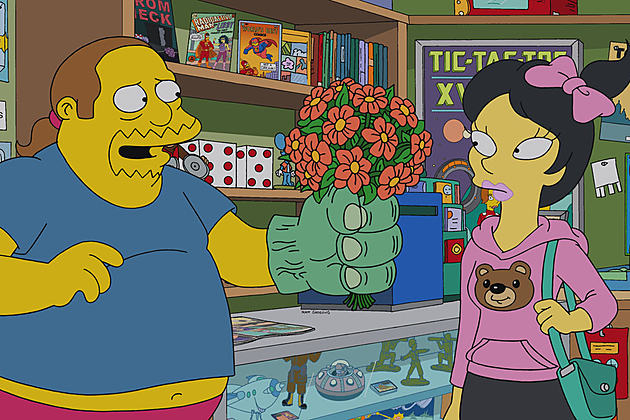 The Simpsons Married to the Blob