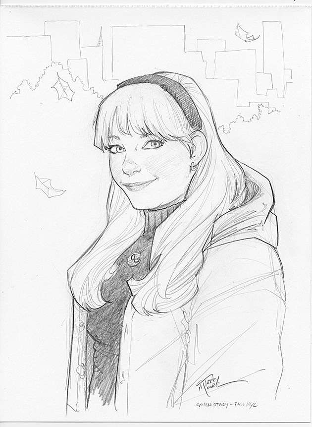 Gwen Stacy by Terry Moore