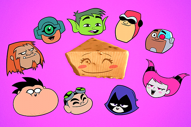 Breakfast Cheese Teen Titans Go Clip