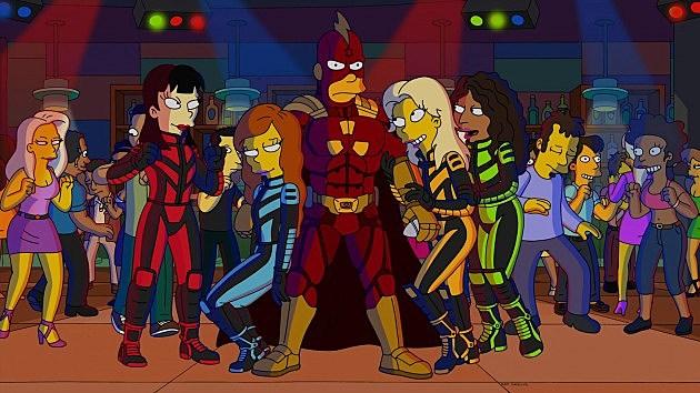Radioactive Man The Simpsons