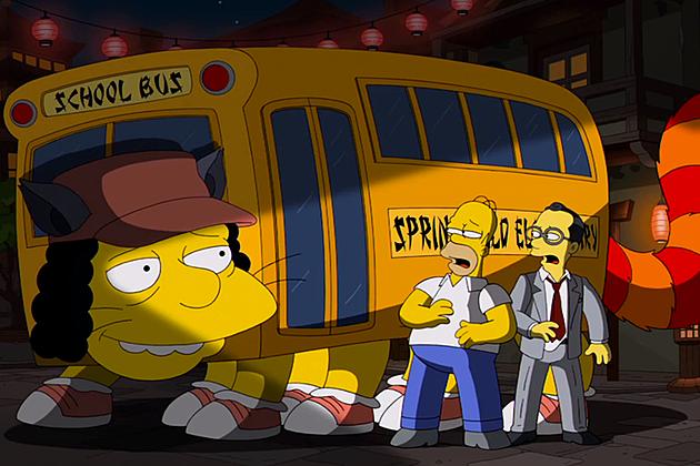 The Simpsons Studio Ghibli Homage