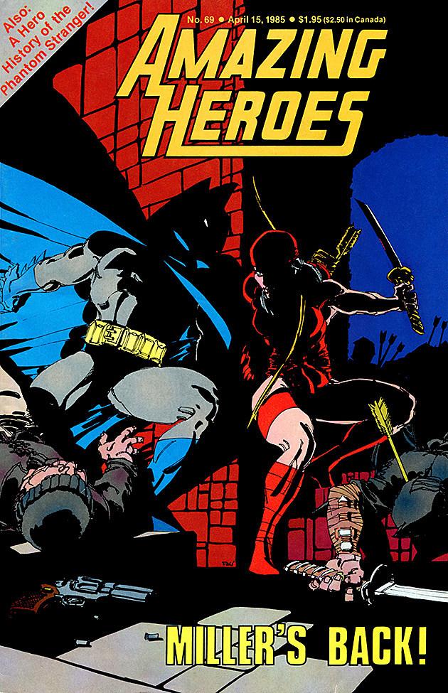 Batman and Elektra by Frank Miller