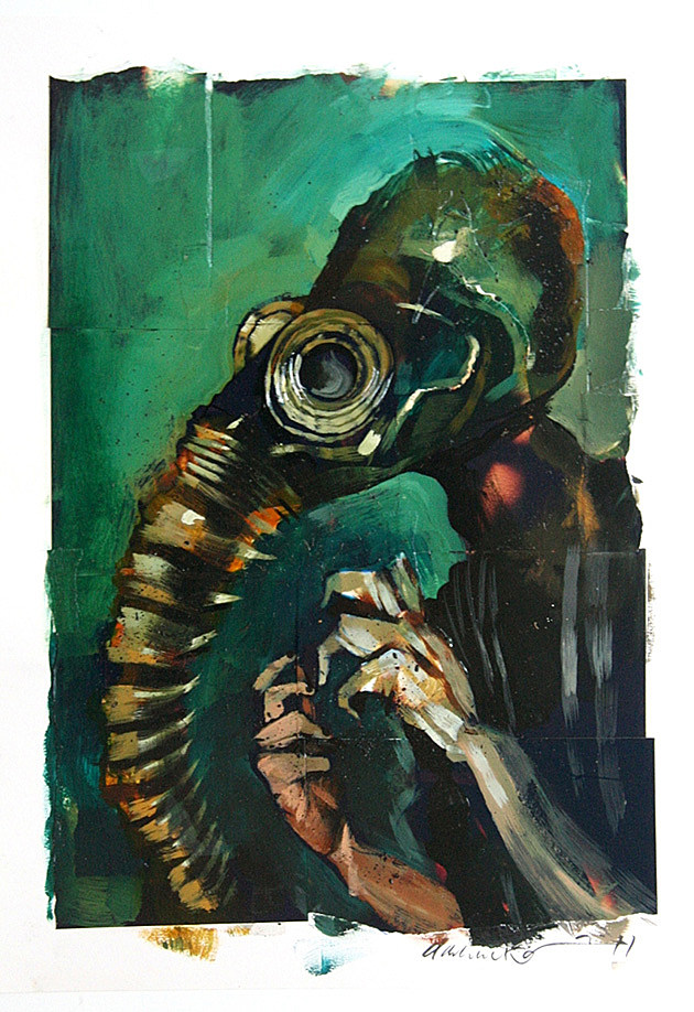 The Sandman by Dave McKean from the collection of Marc Mokken