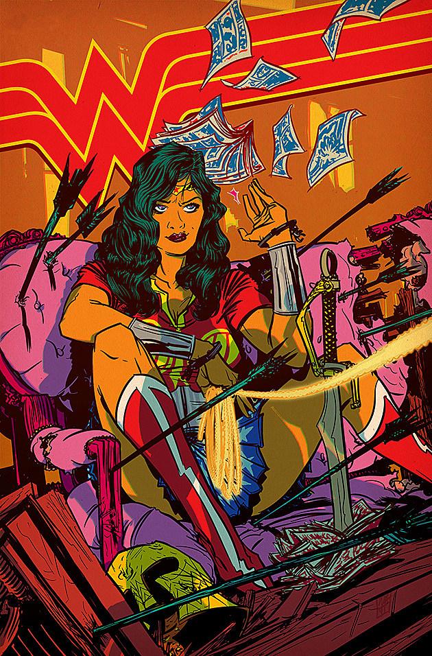Wonder Woman by Nathan Fox