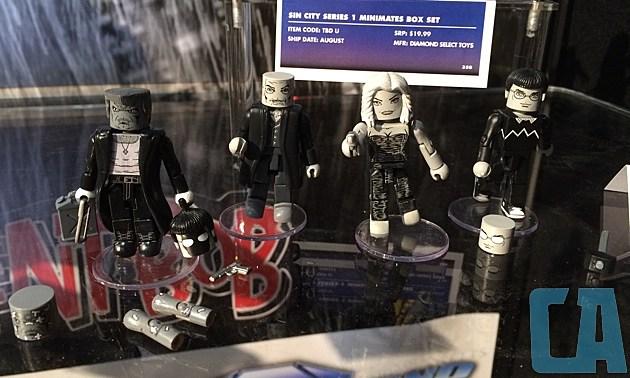 Sin City Minimates Box Set 1