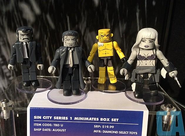 Sin City Minimates Box Set 2