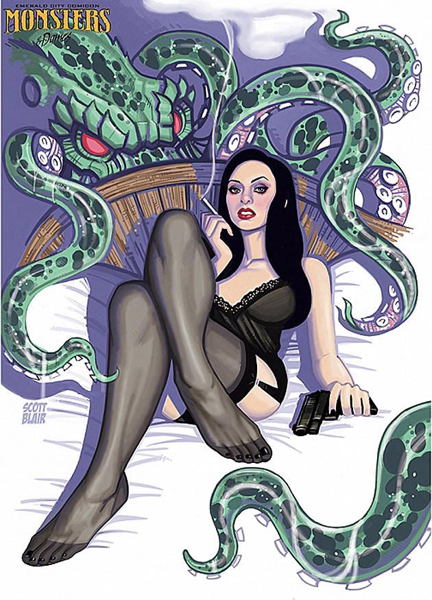 Emerald City Comicon Monsters Dames Scott Blair