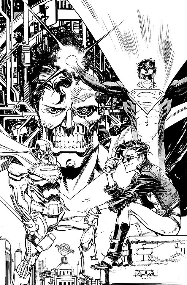 Reign of the Supermen by Sean Murphy