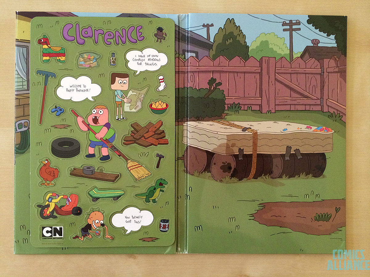 Clarence Press Kit 4