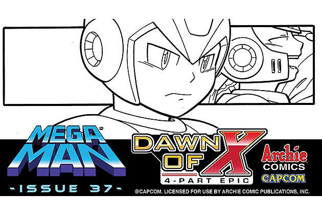 Mega Man: Dawn of X Promo Art