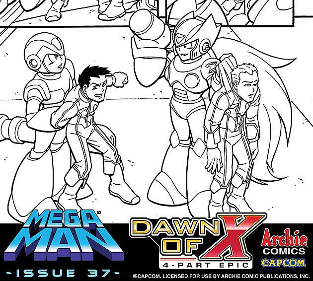 Mega Man: Dawn of X